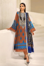 Sana Safinaz Winter Muzlin 2020 Almond suit M203-010B-CO