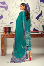 Sana Safinaz Winter Muzlin 2020 Sage Green M203-016B-CO