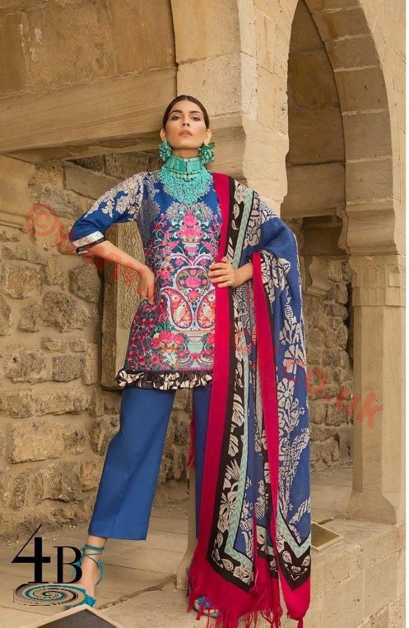 Sana Safinaz Winter suit 4B