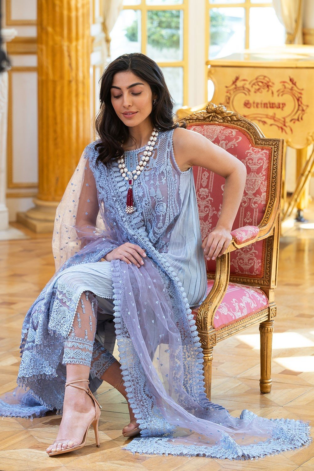 Sobia Nazir Eid Collection 2019 suit 1A