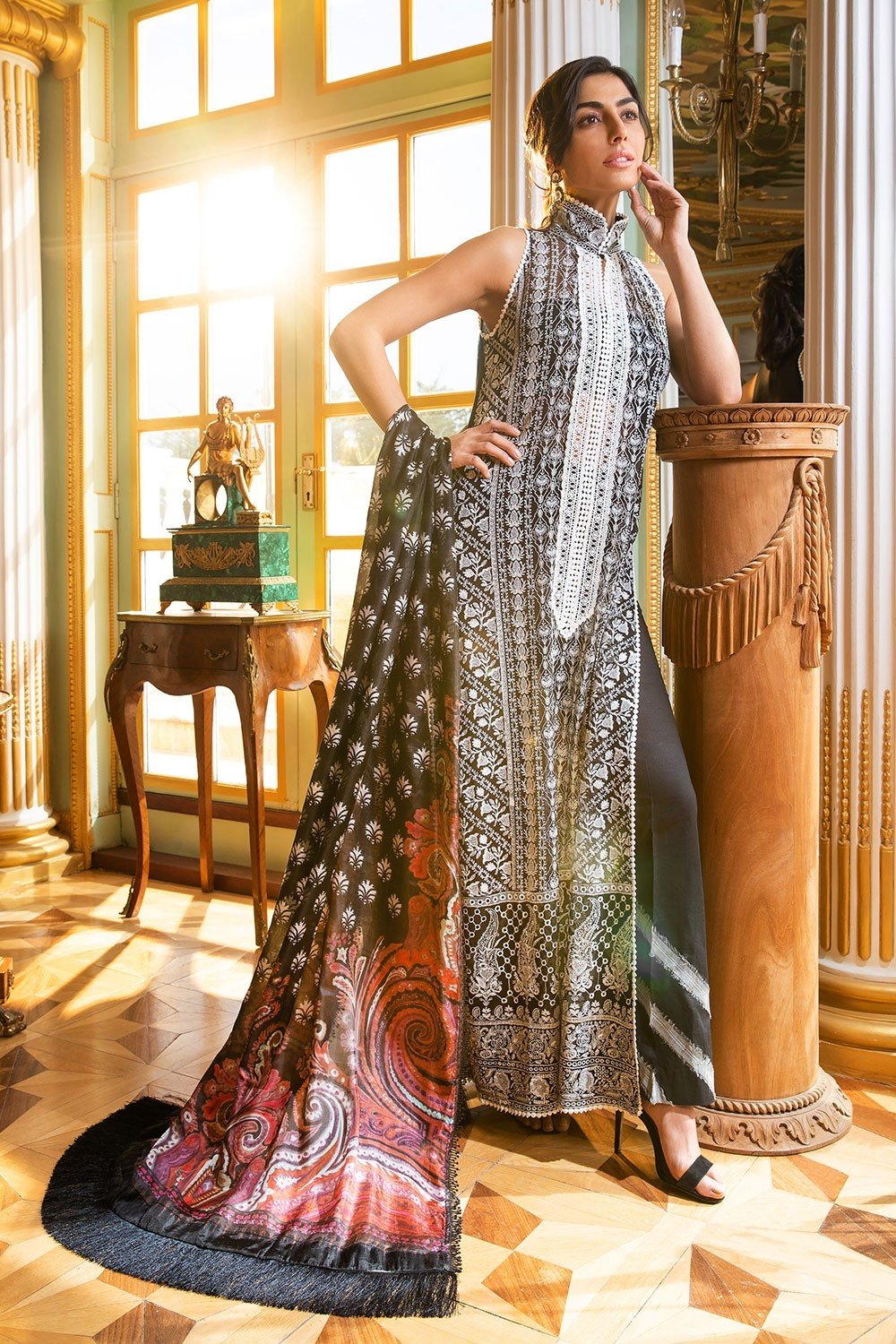 Sobia Nazir Eid Collection 2019 suit 5A