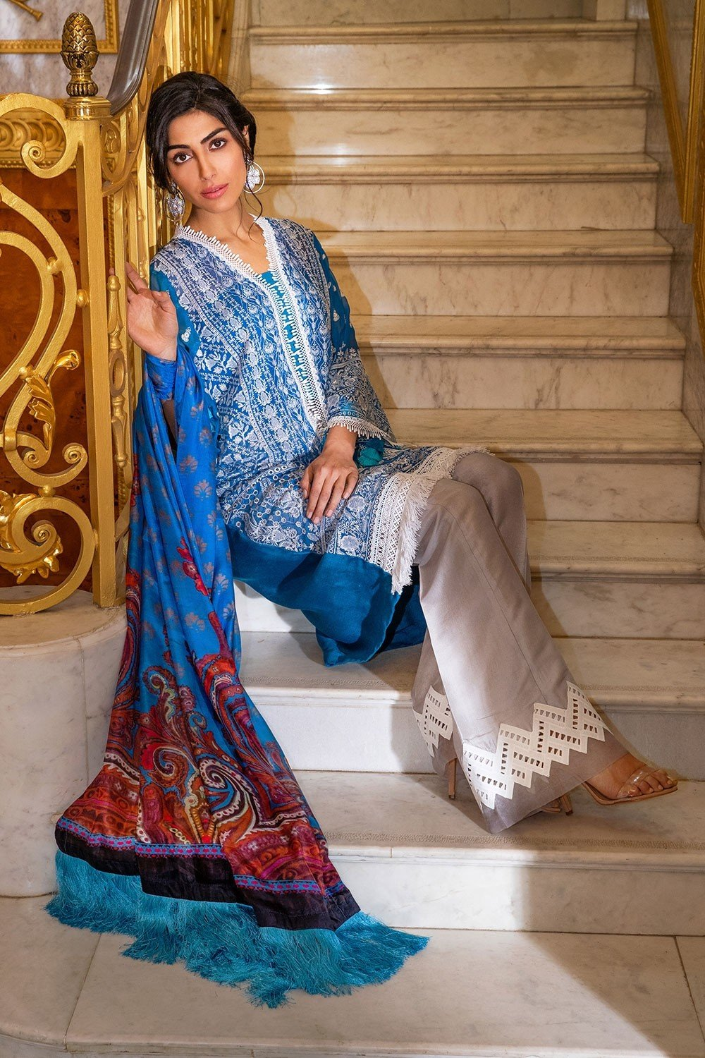 Sobia Nazir Eid Collection 2019 suit 5B