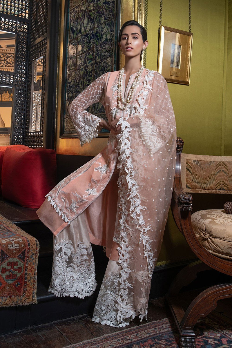 Sobia Nazir Festive Collection 2019 design 3A - Embroidered Party Wear