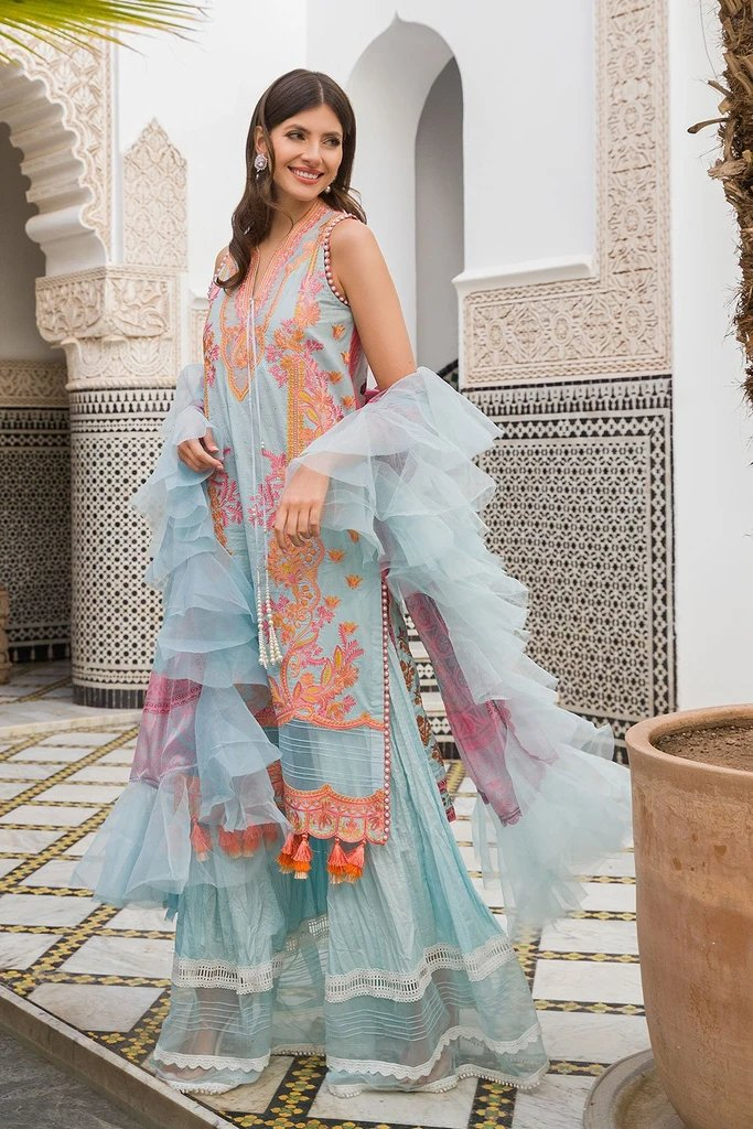 Sobia Nazir Luxury Lawn Collection 2020 suit L20-6B