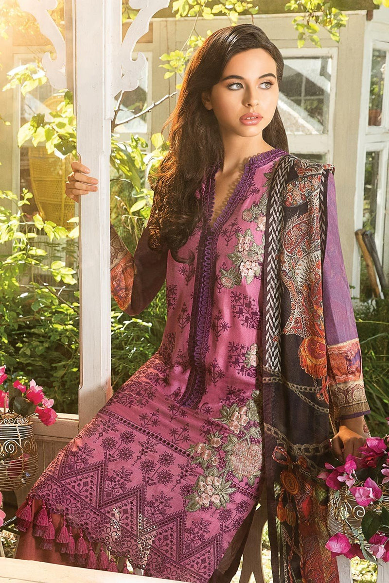 Sobia Nazir Winter Collection 2018 suit 2B