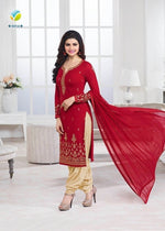 Kaseesh Prachi Red suit 5013