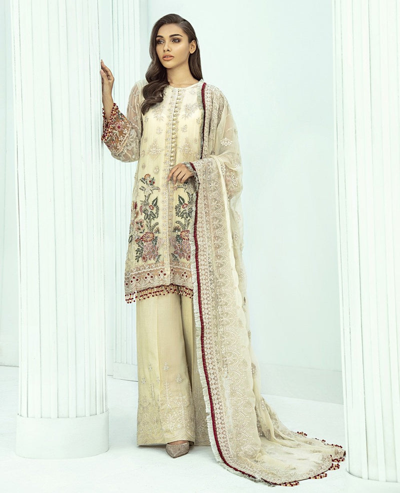 Xenia Formals Janan luxury Chiffon Collection 2020 suit AEZEEN
