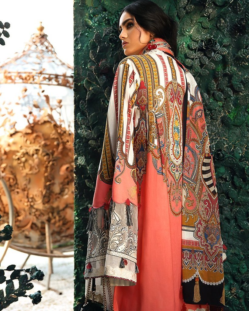 Zaha Wonderland Lawn Vol-1 2019 suit ALTHEA (ZL-09B)