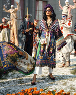 Zaha Spring Lawn Vol-1 2019 by Elan suit ZL-17B
