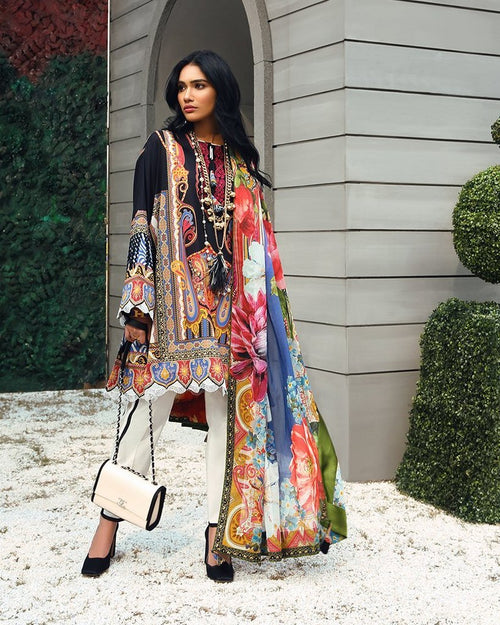 Zaha Summer Lawn Vol-1 2019 suit ZL-18A