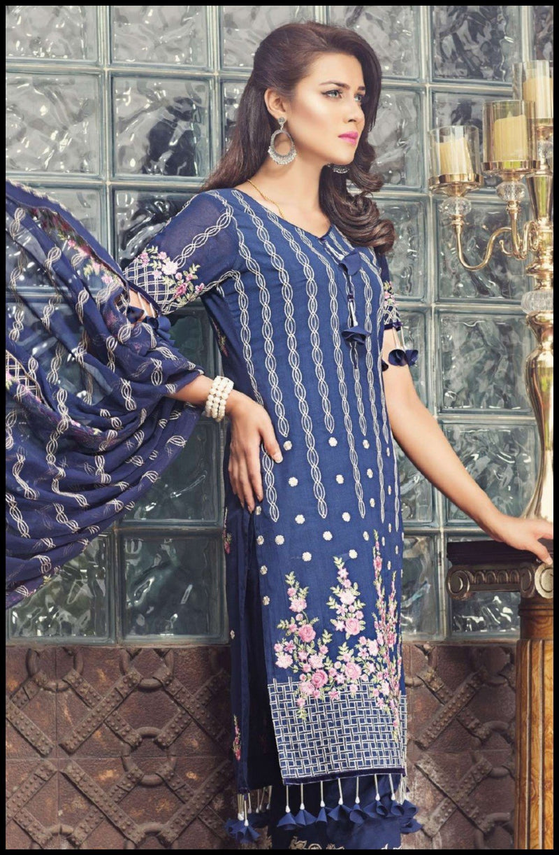 Zainab Hasan Swiss Lawn Vol-3 suit ZH-02