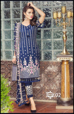 Zainab Hasan Swiss Lawn Vol-3 2019 suit ZH-02