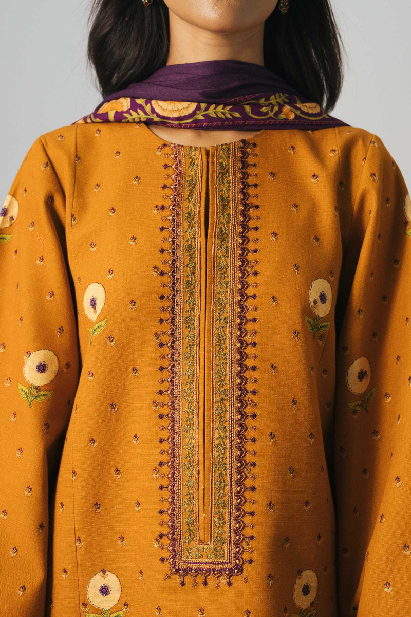 Zara Shahjahan Winter 2020 suit ZW20-6A