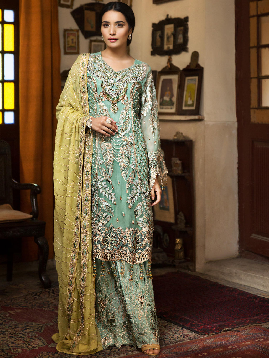 Zebtan Royal Chiffon Vol-3 2019 suit D-03