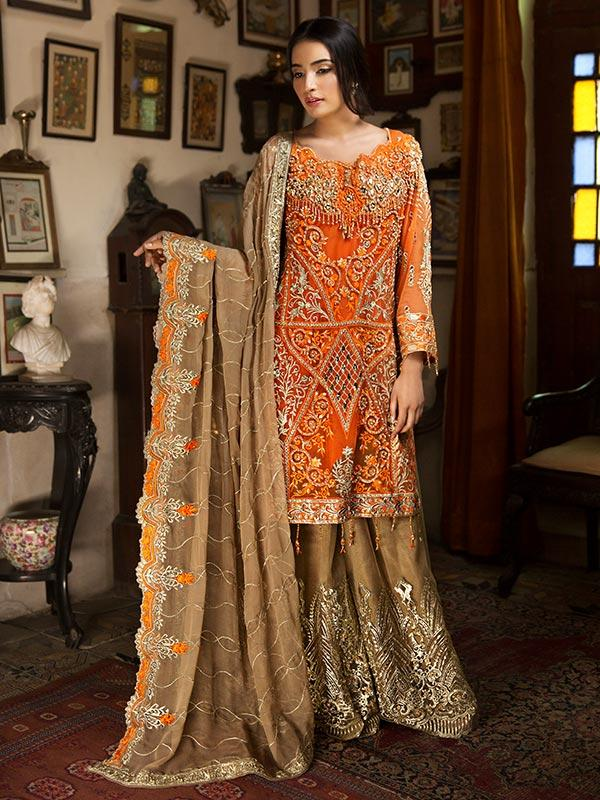 Zebtan Royal Chiffon Vol-3 2019 suit D-08