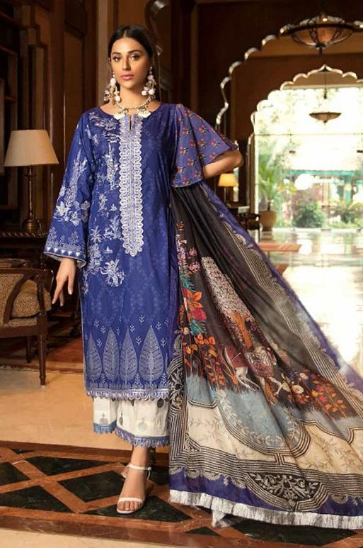 Abiha by Eshaisha Winter Collection 2019 suit D-517