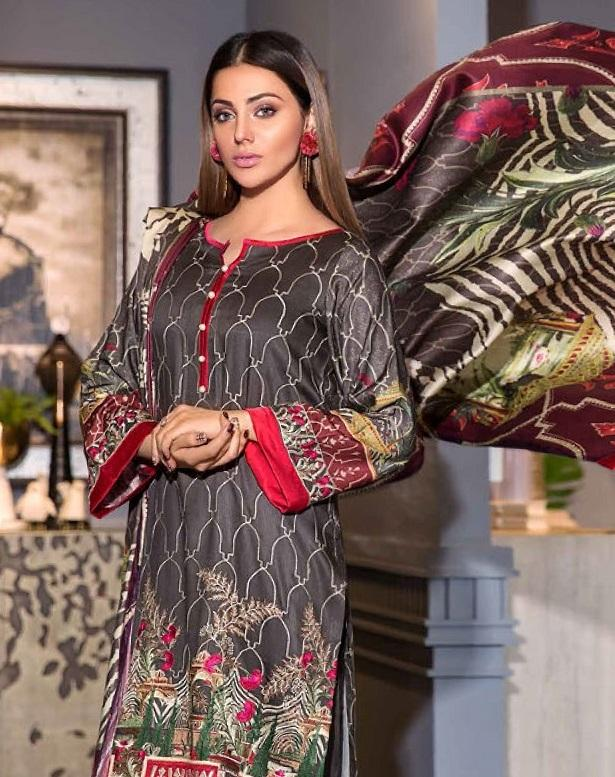 Eshaisha Luxury Embroidered Vol-2 Winter 2019 suit EA-514