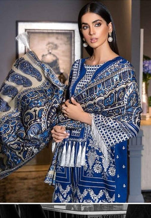 Eshaisha Luxury Embroidered Vol-2 Winter 2019 suit EA-516