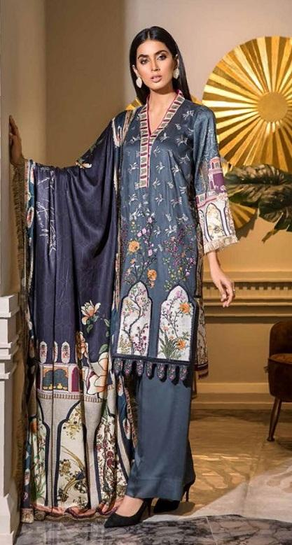 Eshaisha Luxury Embroidered Vol-2 Winter 2019 suit EA-520