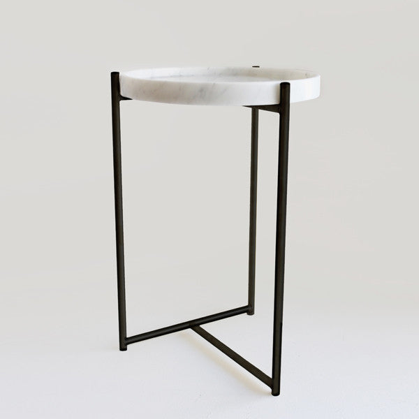 Oliver Marble & Black Tables