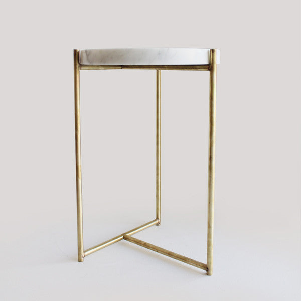 Oliver Marble U0026 Brass Tables
