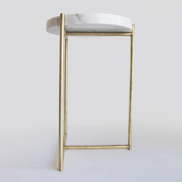 Oliver Marble amp Brass Tables By Evie Group
