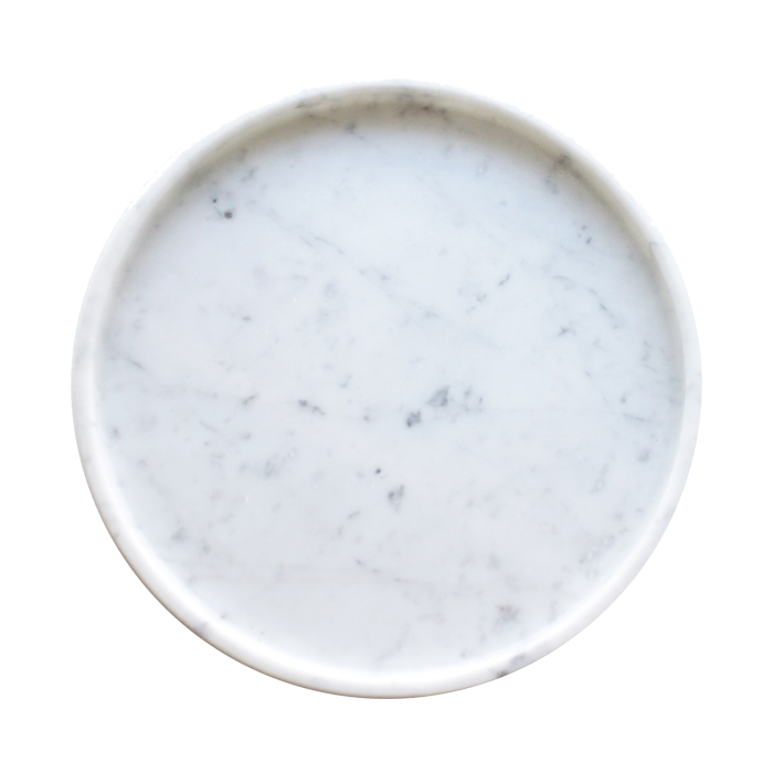 Marble Round Tray