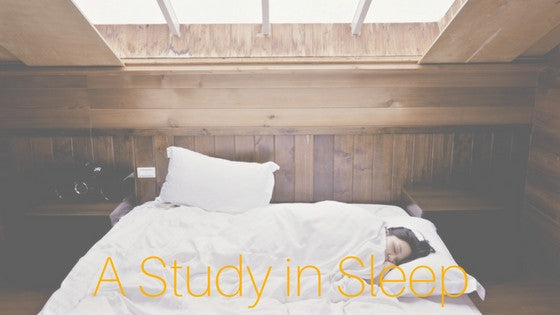 How to sleep better: A study in sleep