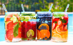 5 Super healthy fruit infused drinks