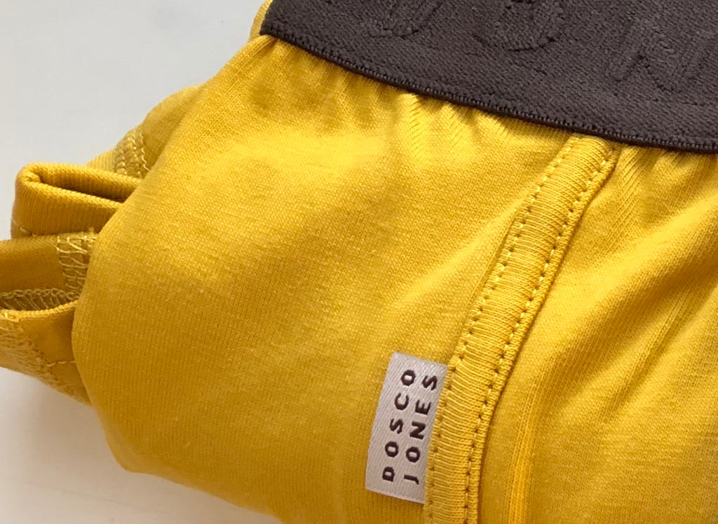 Dosco Jones Mustard Boxer Shorts