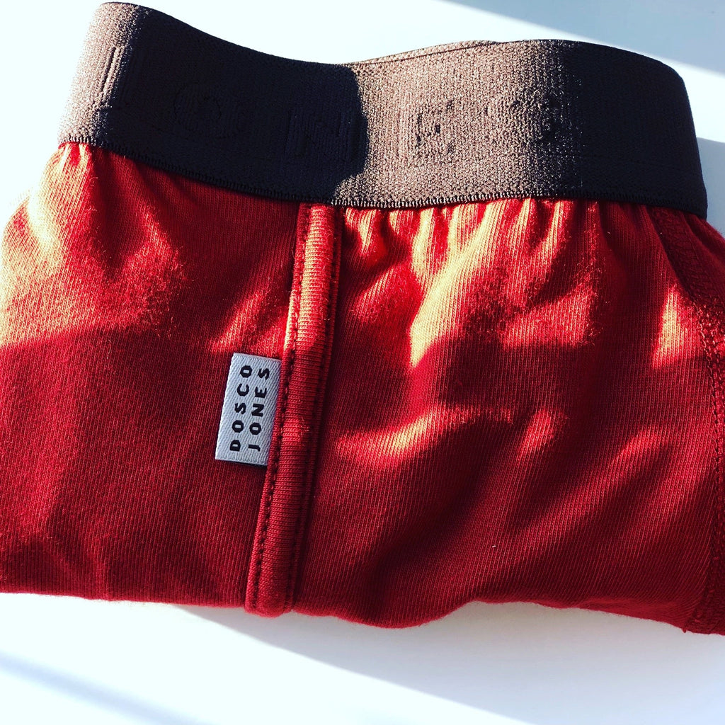 Dosco Jones Rust Boxer Shorts