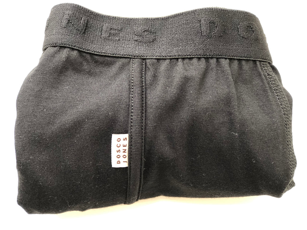 Dosco Jones Noir Boxer Shorts