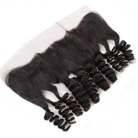 Lace Frontal REMY Cheveux Naturels Loose Wave