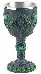 Maiden, Mother & Crone chalice 7 1/2