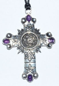 Rose Cross pewter