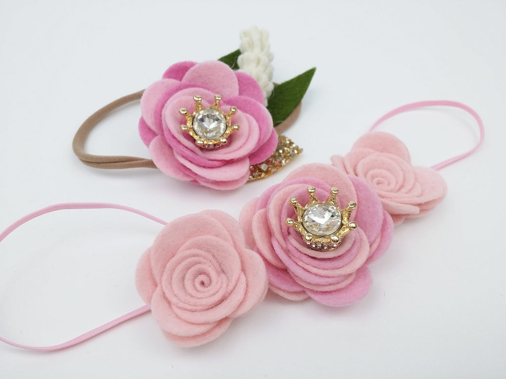 Design Your Own Princess Flower Headband Sweet And Berry