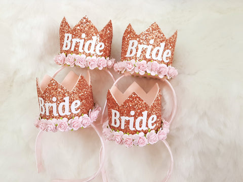 Bride to be crown -  - Baby headband - Sweet and Berry