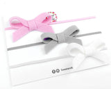 Design your own - Mini simple bow set - gift set - Baby headband - Sweet and Berry