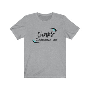Teal Chaos Coordinator Busy Mom Short Sleeve Tee