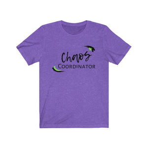 Green Chaos Coordinator Busy Mom Short Sleeve Tee