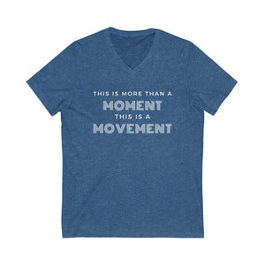 More Than  A Moment Short Sleeve V-Neck Tee