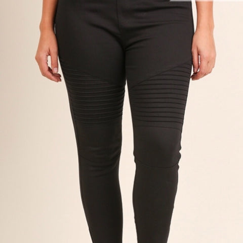 Capri Cutout Leggings - Charcoal Gray