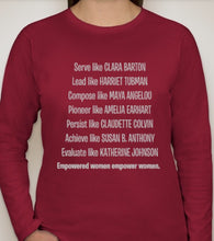 Load image into Gallery viewer, Empowered Women Tee (Long-sleeve)