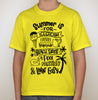 All Things Summer Tee - Lemonade