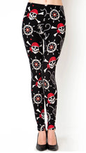 Load image into Gallery viewer, Pirate Leggings