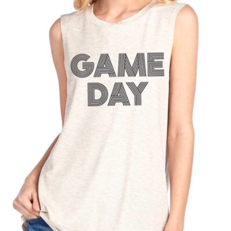 Game Day Tank - Ivory