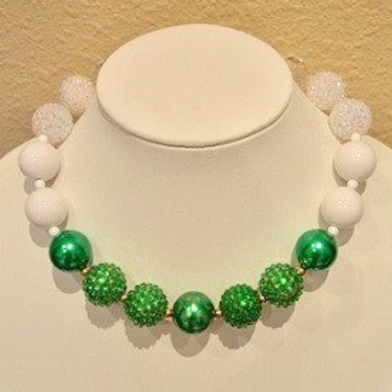 Girls' Beaded Statement Necklace - Holly