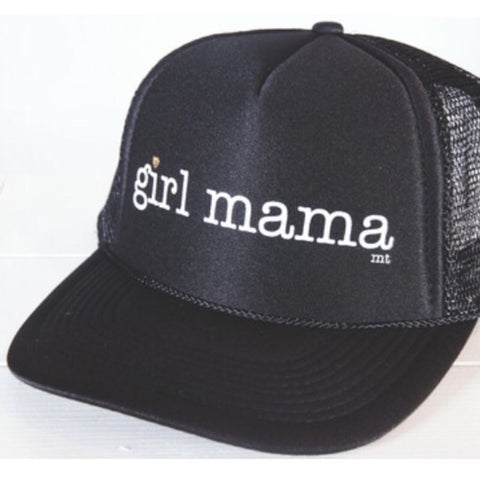 #MOMLIFE Hat (Black + Gold)