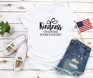Kindness Changes Everything Short Sleeve Tee