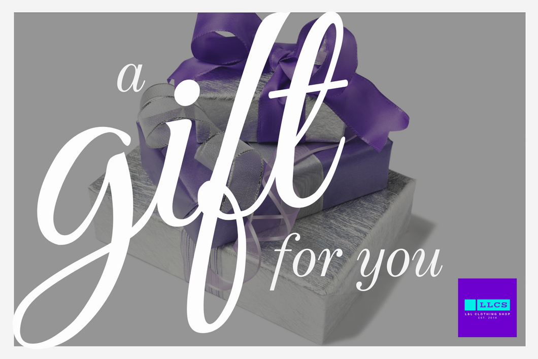L + L Digital Gift Card